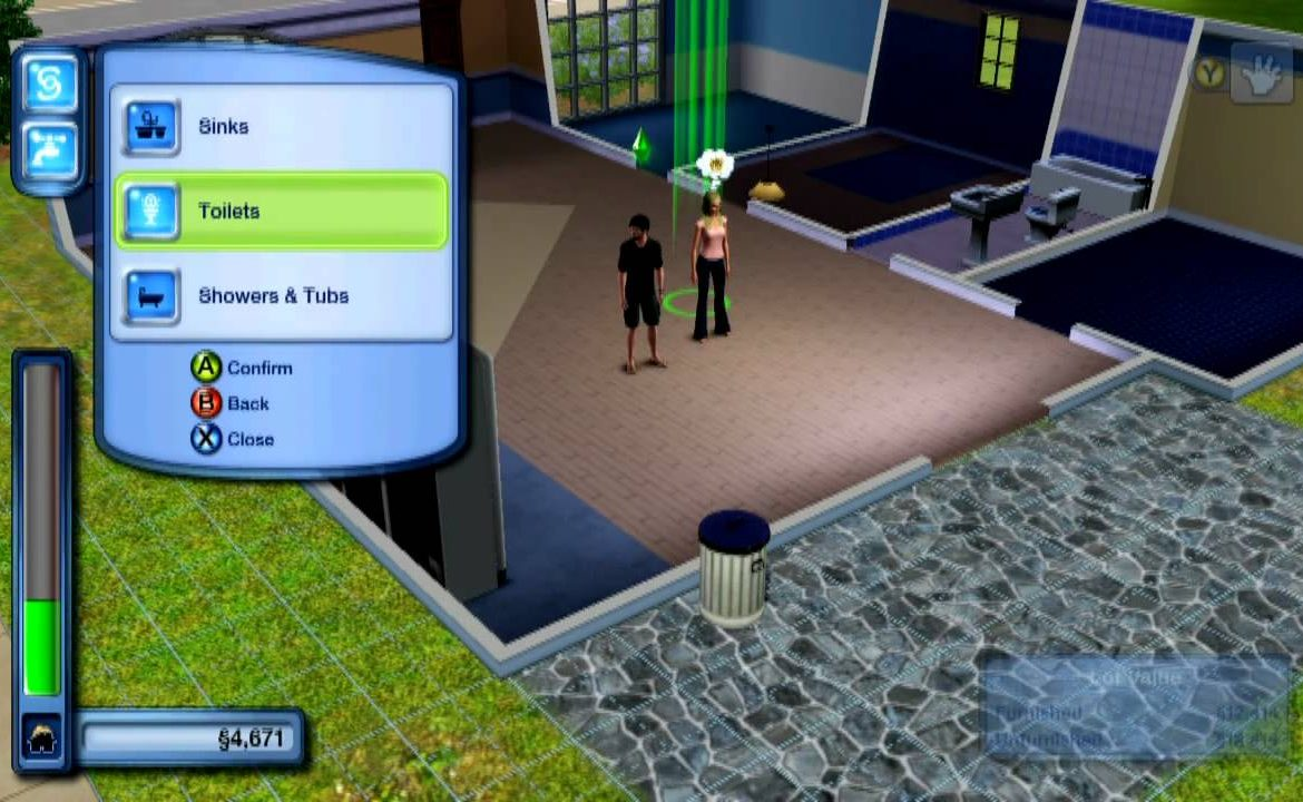 Playing Sims 3 Games