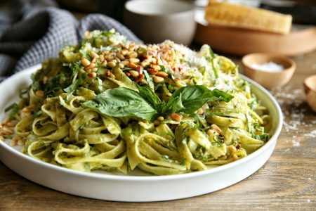 If you're over 40, eat pesto for health and longevity